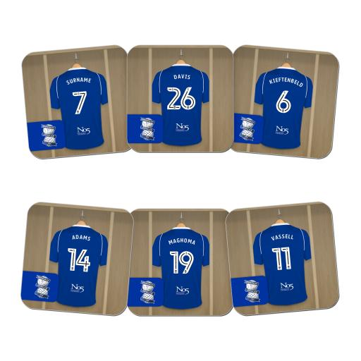Birmingham City FC Dressing Room Coasters