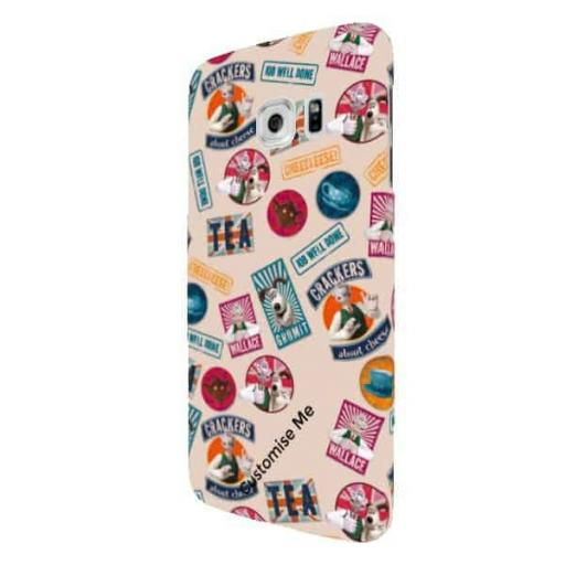 Wallace And Gromit WANTED Samsung Galaxy S7 Edge Clip Case
