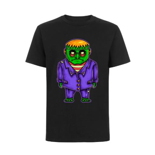 Frankenstein Horror Cartoon BC Exact 150 T-Shirt