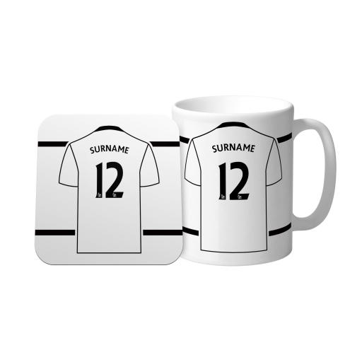 Swansea City AFC Shirt Mug & Coaster Set