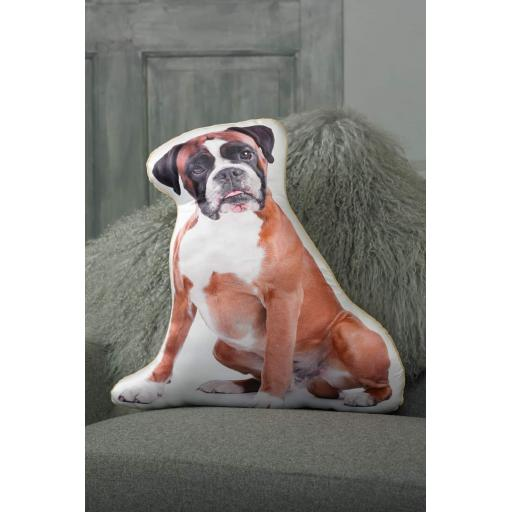 Boxer Shaped Cushion Perfect Gift For Dog Lovers