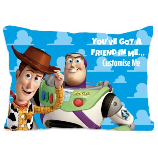 Disney Toy Story You've Got A Friend In Me Extra Large Fiber Cushion