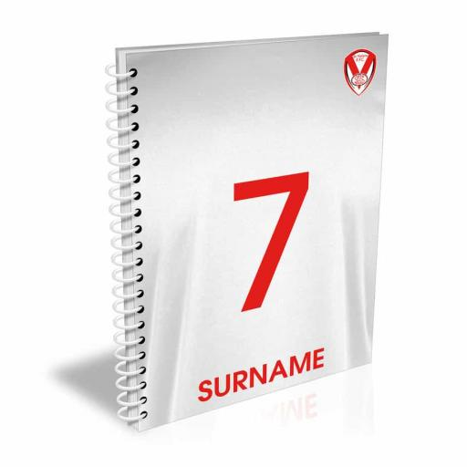 St Helens Shirt Notebook
