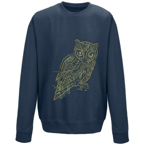 Electrical Owl Sweatshirt