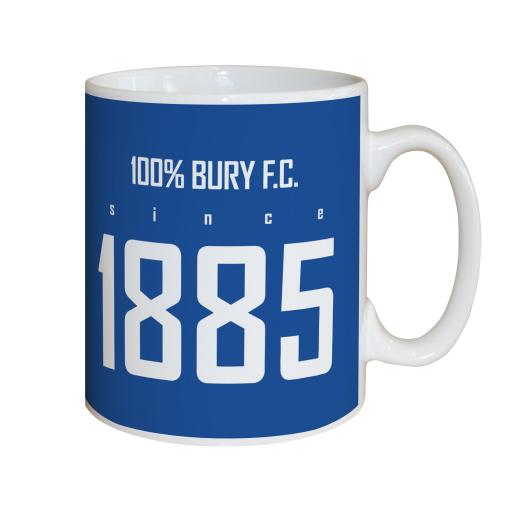 Bury FC 100 Percent Mug