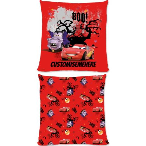 Disney Cars Lightning McQueen Seasonal Large Fiber Cushion