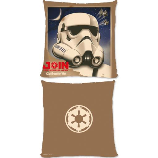 """Star Wars Rebels """"Join The Imperial Army"""" Large Fibre Cushion"""