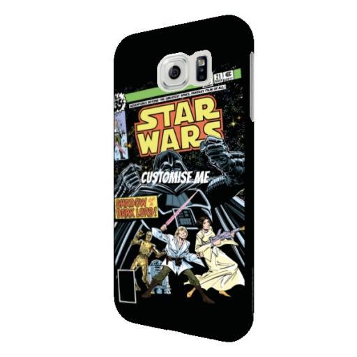 Star Wars Classic Comic Print Samsung Galaxy S6 Clip Case