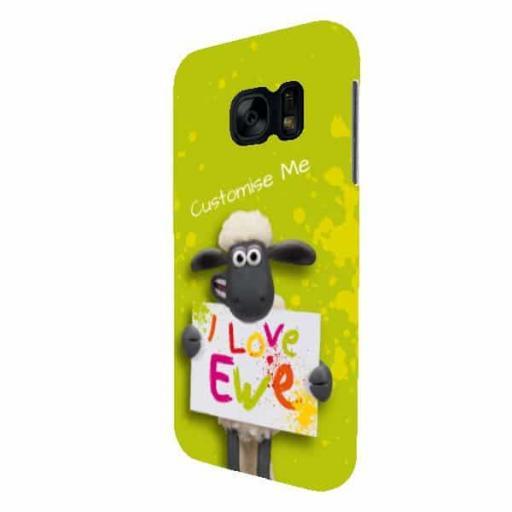 Shaun The Sheep Valentines Print Samsung Galaxy S7 Clip Case
