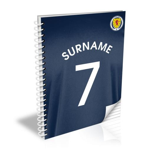Scotland Shirt Notebook