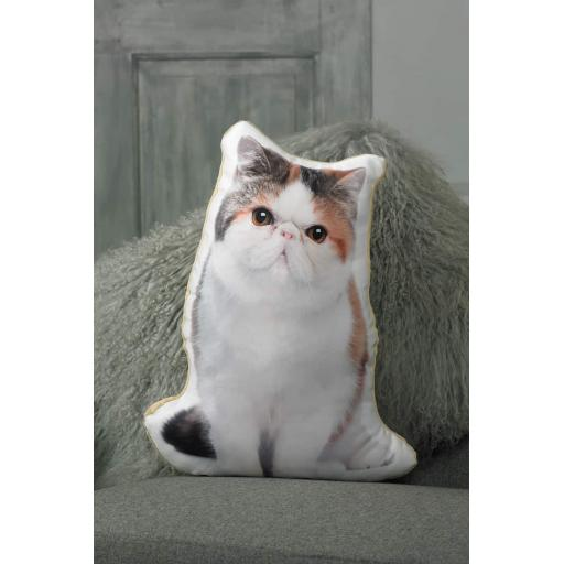 Exotic Shorthair Cat Shaped Cushion Perfect Gift For Cat Lovers