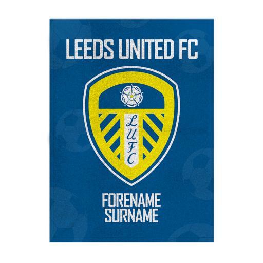 Leeds United FC Crest Blanket (100cm X 75cm)
