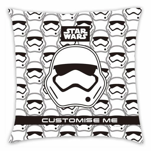 Star Wars Storm Trooper Icon Cushion