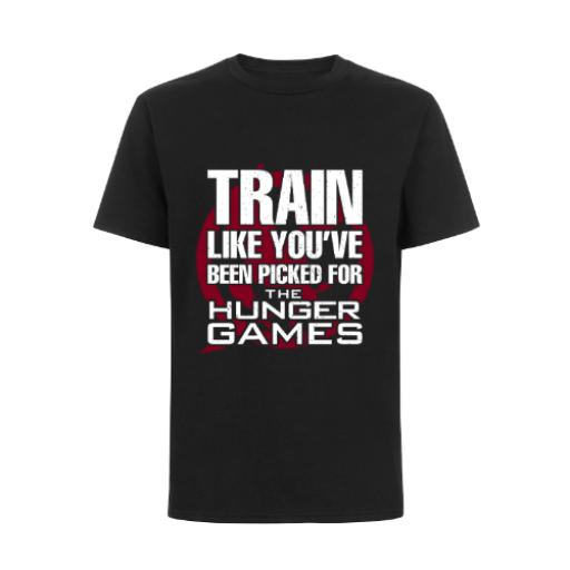 Train Like Been Picked For The Hunger Games BC Exact 150 T-Shirt