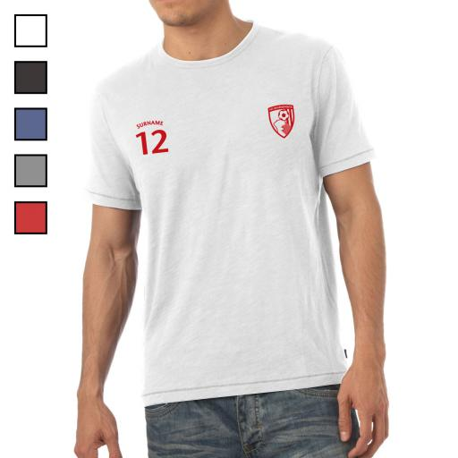 AFC Bournemouth Mens Sports T-Shirt