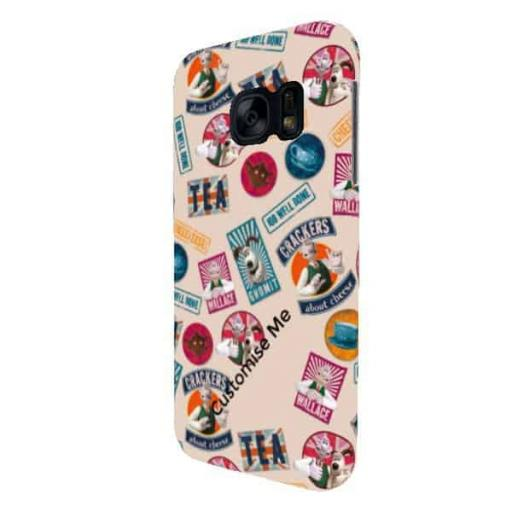 Wallace And Gromit WANTED Samsung Galaxy S7 Clip Case