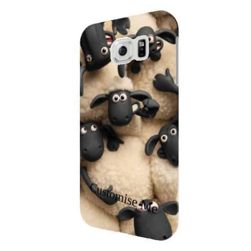 Shaun The Sheep Join The Flock Samsung Galaxy S6 Clip Case
