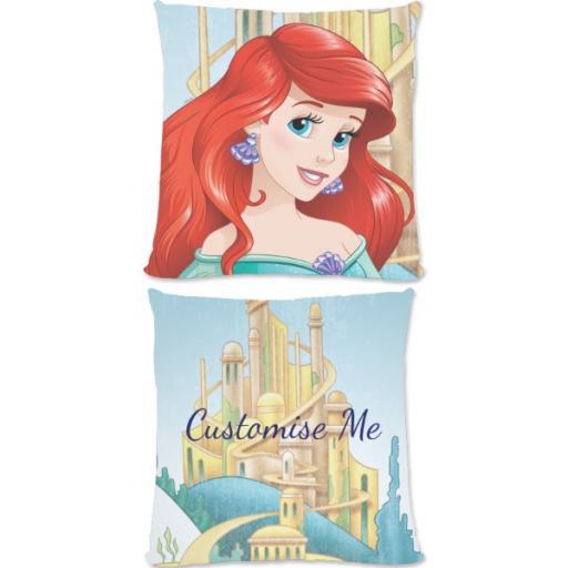 Disney Princess Ariel Large Fiber Cushion