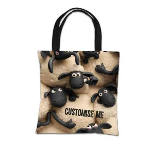 "Aardman Shaun The Sheep ""Join The Flock"" Tote Bag"