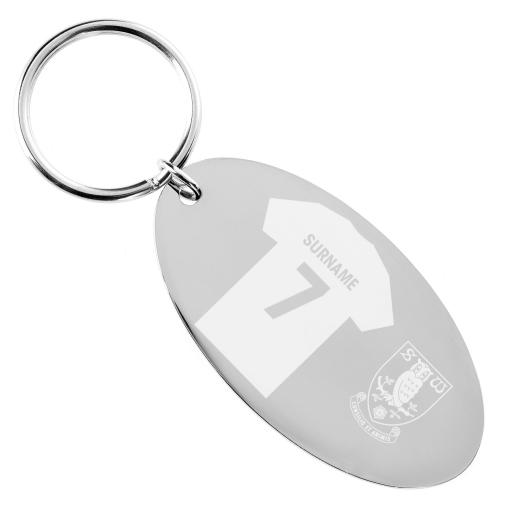 Sheffield Wednesday FC Shirt Keyring