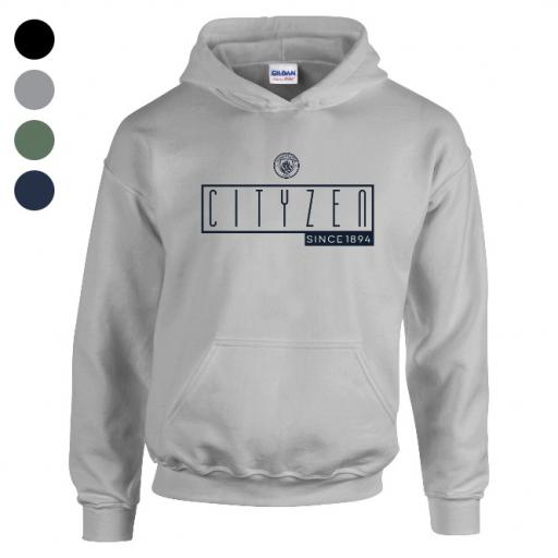 Manchester City FC Art Deco Hoodie