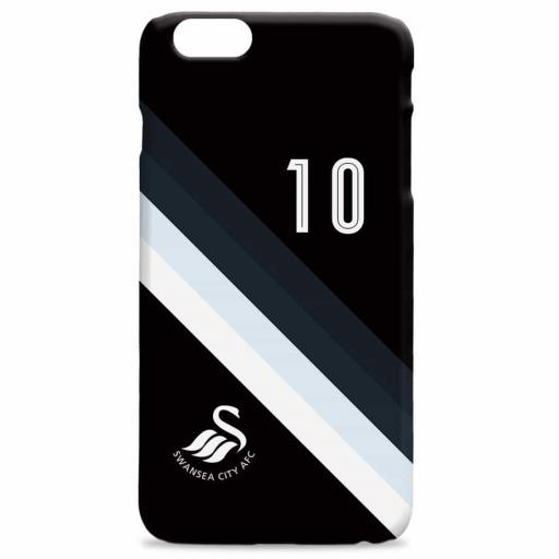 Swansea City AFC Stripe Hard Back Phone Case