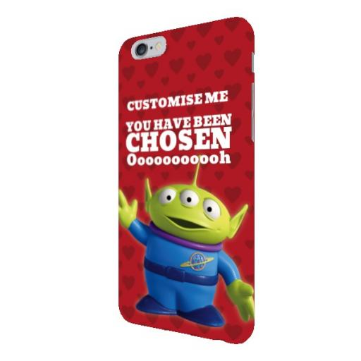 Disney Toy Story Valentines Alien You Have Been Chosen iPhone 6+/6S+ Clip Case