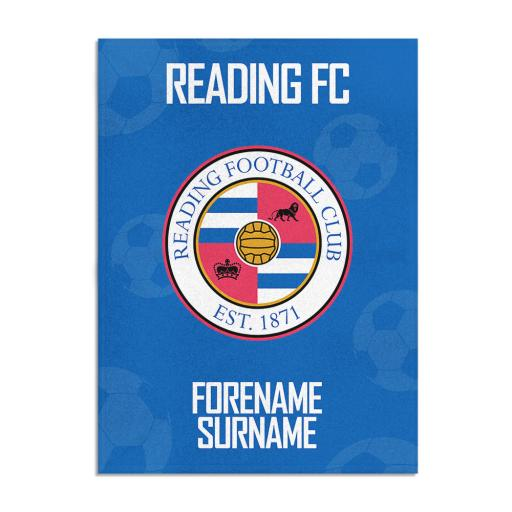 Reading FC Crest Blanket (150cm x 110cm)