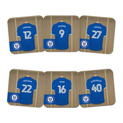 Rochdale AFC Dressing Room Coasters