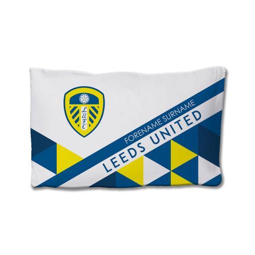 Leeds United FC Patterned Pillowcase