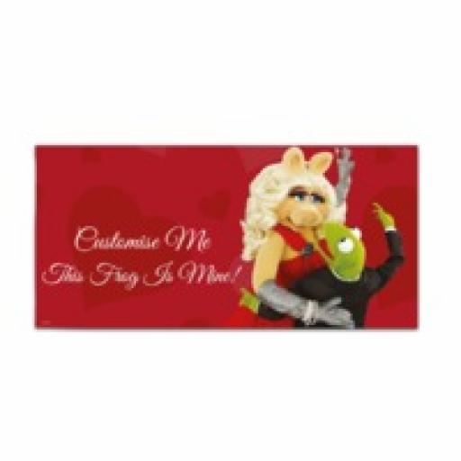 Disney The Muppets Kermit And Miss Piggy This Frog Is Mine Large Towel