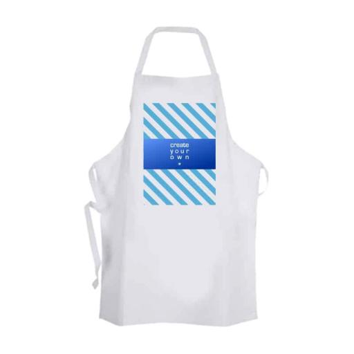Create Your OwnApron - Kids - White - A4 Panel Print - 50cm x 45cm