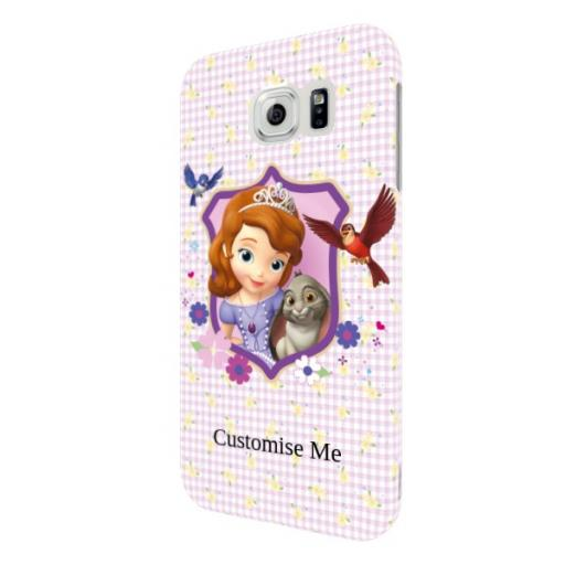 Disney First Sofia And Clover Samsung Galaxy S6 Clip Case