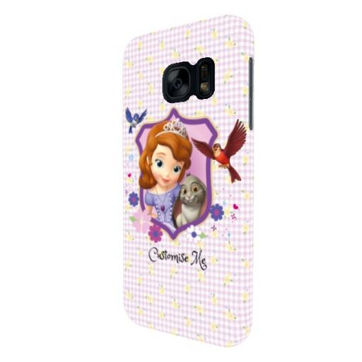 Disney First Sofia And Clover Samsung Galaxy S7 Clip Case