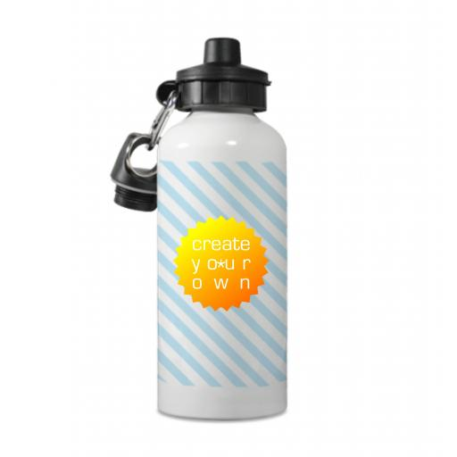 Create Your OwnWater Bottle - White - Aluminium - 600ml