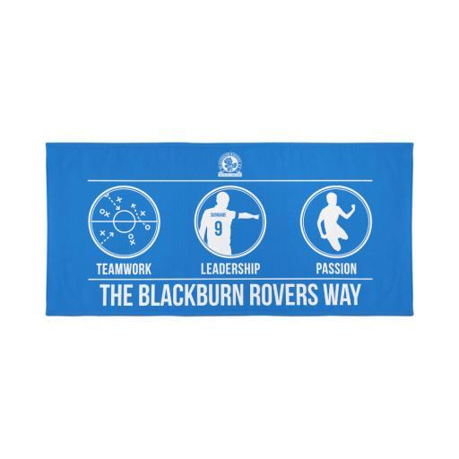 Blackburn Rovers FC Way Travel Towel
