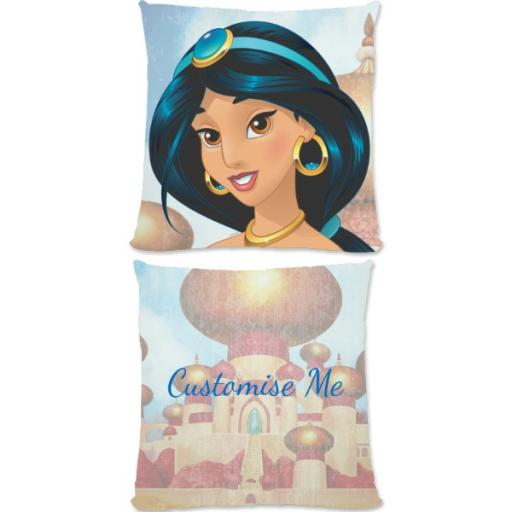 Disney Princess Jasmine Small Fiber Cushion