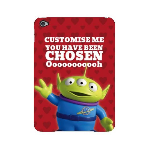 Disney Toy Story Valentines Alien You Have Been Chosen iPad Mini 4 Clip Case