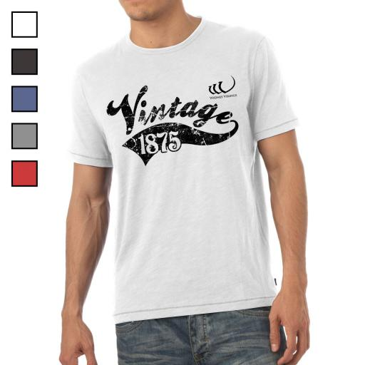 Widnes Vikings Mens Vintage T-Shirt