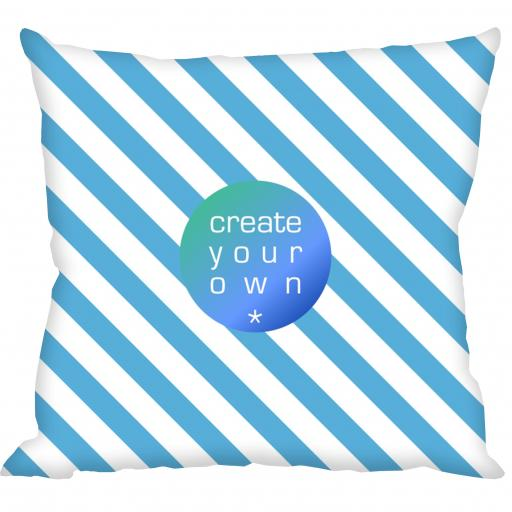 Cushion Cover Only - Faux Suede - Double Sided print - 45cm x 45cm