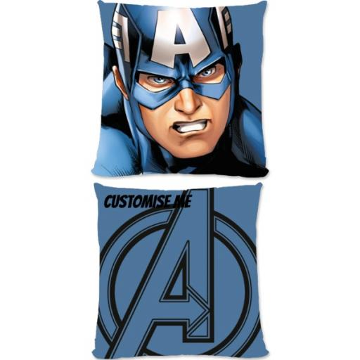 Marvel Avengers Assemble Captain America Small Fiber Cushion