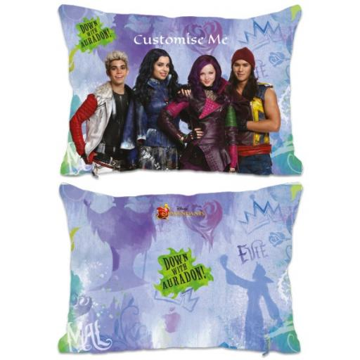 Disney The Descendants Group Design Extra Large Fiber Cushion