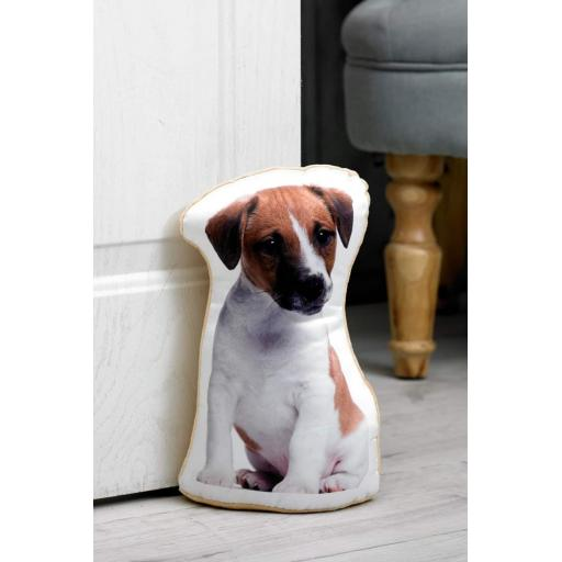 Jack Russell Lovers-Vivid Image Jack Russell Shaped Doorstop