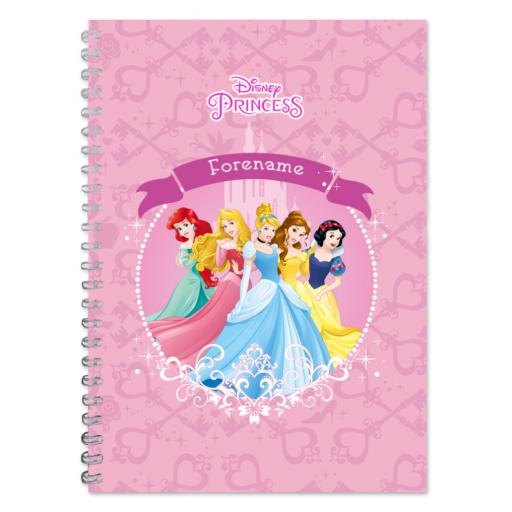 Disney Princess Group A4 Notepad