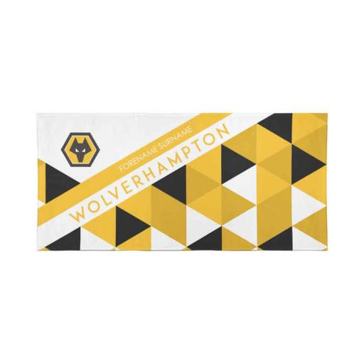 Wolves Patterned Travel Towel