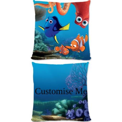 Disney Finding Dory Group Scene Large Fiber Cushion
