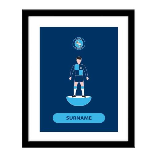 Wycombe Wanderers Player Figure Print