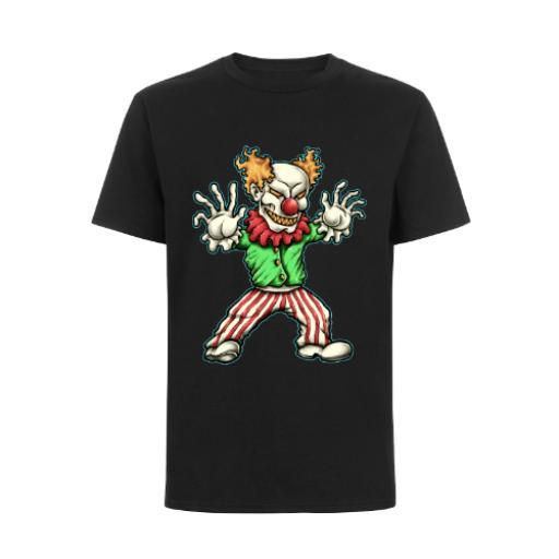 Evil Clown Cartoon Design BC Exact 150 T-Shirt