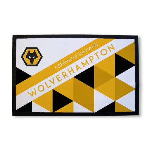 Wolves Patterned Door Mat