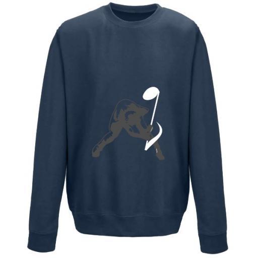 AWDis Sweatshirt Breaking Noise Graphic